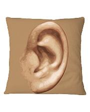 Ear by Jannet Mercier Square Pillowcase thumbnail