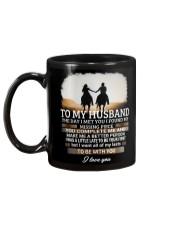 To My Husband Horse Wife Mug back