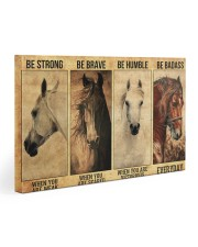 Be strong be brave be humble  30x20 Gallery Wrapped Canvas Prints thumbnail