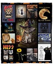 "Love My Cats Fleece Blanket - 50"" x 60"" thumbnail"