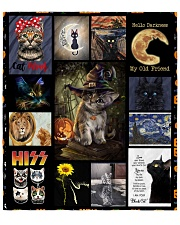 """Love My Cats Quilt 70""""x80"""" - Queen front"""