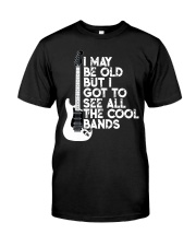 I Maybe Old Guitar Classic T-Shirt front