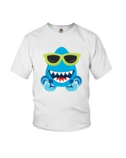Baby Cool Shark Sunglasses Youth T-Shirt front
