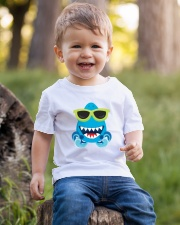 Baby Cool Shark Sunglasses Youth T-Shirt lifestyle-youth-tshirt-front-4