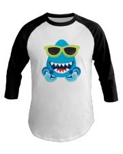 Baby Cool Shark Sunglasses Baseball Tee thumbnail