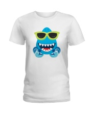 Baby Cool Shark Sunglasses Ladies T-Shirt thumbnail