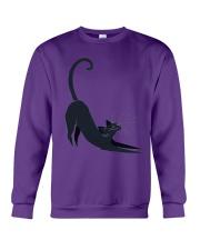 Cats Black Animal Animals Crewneck Sweatshirt front