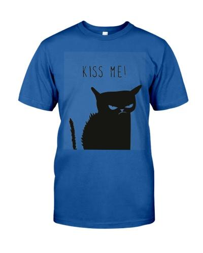 Kiss me black cat