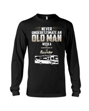 special shirt - Never underestimate an Old man Long Sleeve Tee thumbnail