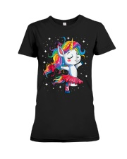 Unicorn Lovers Premium Fit Ladies Tee thumbnail