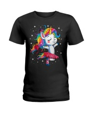 Unicorn Lovers Ladies T-Shirt front