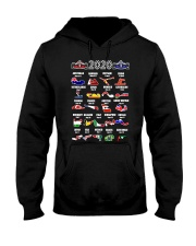 2020 Motor Racing Calendar T Shirt Hooded Sweatshirt thumbnail