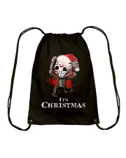It's Christmas Friday the 13th Drawstring Bag tile