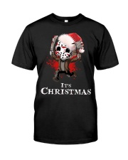 It's Christmas Friday the 13th Classic T-Shirt front