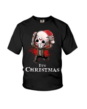 It's Christmas Friday the 13th Youth T-Shirt thumbnail