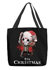It's Christmas Friday the 13th All-over Tote thumbnail