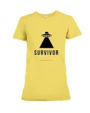 Survivor Series Premium Fit Ladies Tee front