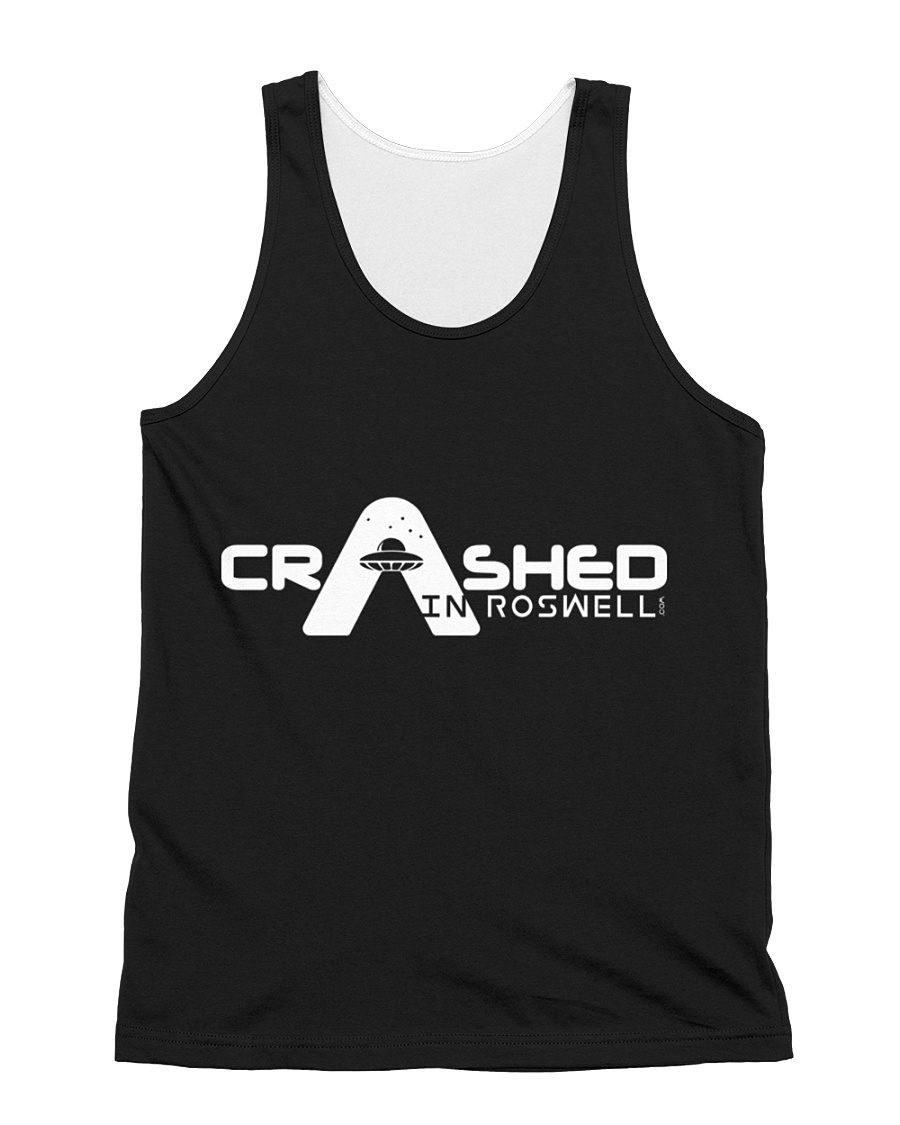 Crash in Roswell 3 All-over Unisex Tank