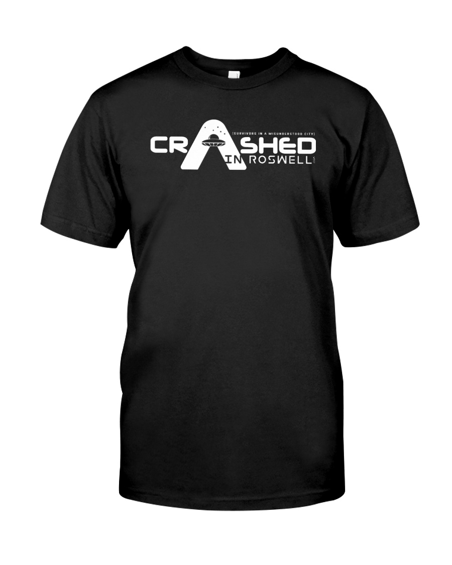 Crashed in Roswell Premium Fit Mens Tee