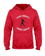 Make Sundays Great Againi Hooded Sweatshirt thumbnail