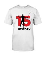Tiger 15 Majors H15TORY Classic T-Shirt front