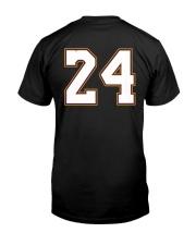 Kobe memorial 24 Classic T-Shirt back
