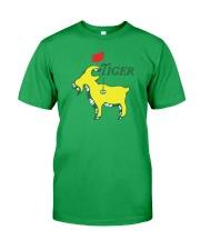 Tiger GOAT Classic T-Shirt front