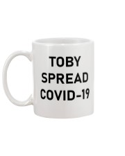 Toby Spread virus Mug back