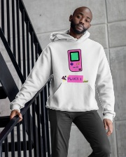 Player 1 Gaming Hoodie For Her  Hooded Sweatshirt apparel-hooded-sweatshirt-lifestyle-front-10