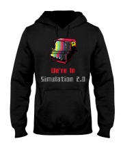 simulation accessories  Hooded Sweatshirt front