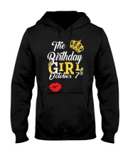 OCTOBER BIRTHDAY GIRL Hooded Sweatshirt thumbnail