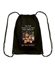 GET MORE GUITARS Drawstring Bag thumbnail