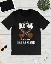 OLD MAN ALSO UKULELE Classic T-Shirt lifestyle-mens-crewneck-front-17