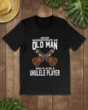 OLD MAN ALSO UKULELE Classic T-Shirt lifestyle-mens-crewneck-front-18