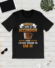 WARNING I HAVE AN ACCORDION Classic T-Shirt lifestyle-mens-crewneck-front-17