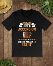 WARNING I HAVE AN ACCORDION Classic T-Shirt lifestyle-mens-crewneck-front-18
