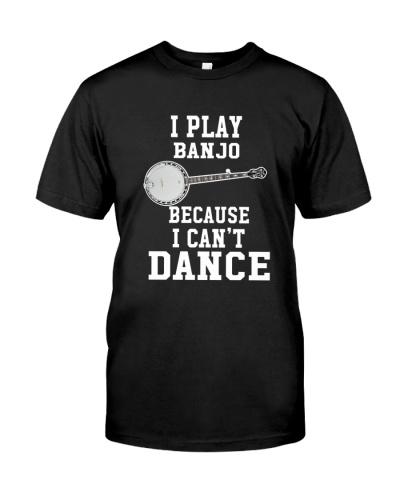I CANNOT DANCE BANJO