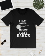 I CANNOT DANCE BANJO Classic T-Shirt lifestyle-mens-crewneck-front-17