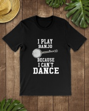 I CANNOT DANCE BANJO Classic T-Shirt lifestyle-mens-crewneck-front-18
