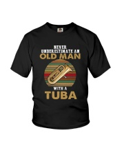 OLD MAN VINTAGE TUBA Youth T-Shirt thumbnail
