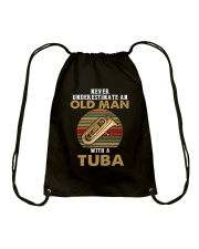 OLD MAN VINTAGE TUBA Drawstring Bag thumbnail
