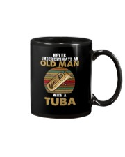 OLD MAN VINTAGE TUBA Mug tile