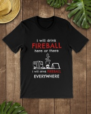 DRINK FIREBALL EVERYWHERE Classic T-Shirt lifestyle-mens-crewneck-front-18