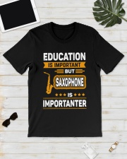 EDUCATION SAXOPHONE Classic T-Shirt lifestyle-mens-crewneck-front-17