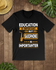 EDUCATION SAXOPHONE Classic T-Shirt lifestyle-mens-crewneck-front-18