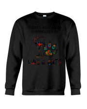 MOOD WINE CAT Crewneck Sweatshirt thumbnail