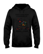 MOOD WINE CAT Hooded Sweatshirt thumbnail