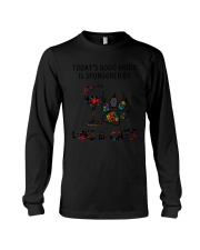 MOOD WINE CAT Long Sleeve Tee thumbnail