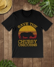 SAVE CHUBBY UNICORNS Classic T-Shirt lifestyle-mens-crewneck-front-18