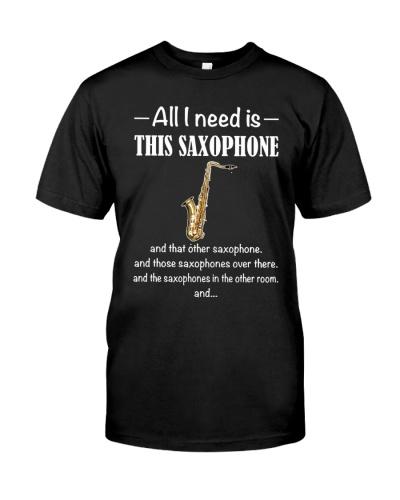 ALL I NEED SAXOPHONE